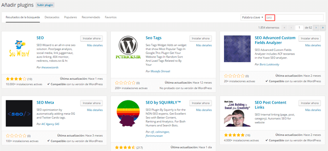 subir plugin wordpress