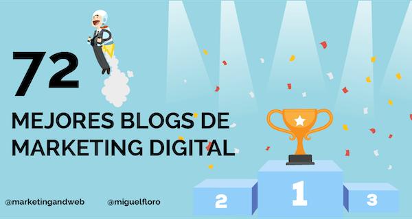Les 72 meilleurs blogs de marketing numérique en espagnol en 2021 [Classement]