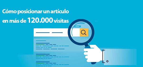 So positionieren Sie einen Artikel in Google bei mehr als 120.000 Besuchen pro Monat [Real case]