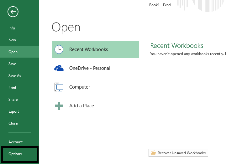 open-excel-menu-navigate-to-file-and-then-options-7477435