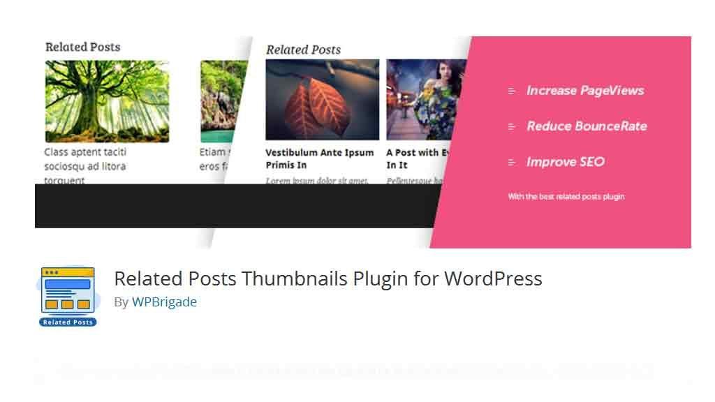 Verwandte Beiträge Thumbnails Plugin für WordPress