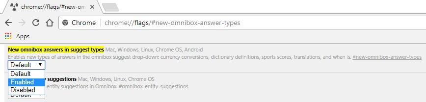 Wählen Sie-aktiviert-aus-der-Dropdown-Liste-unter-neuen-Omnibox-Antworten-in-Vorschlag-Typen-6721878