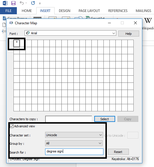 type-degree-sign-in-the-search-box-it-will-populate-the-degree-sign-4449001