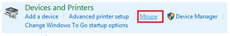 Klicken Sie mit der Maus unter Geräte und Drucker 1-6497156