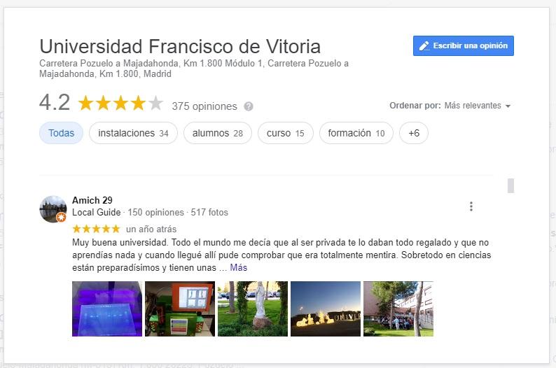 universidad-francisco-de-vitoria-google-mi-negocio